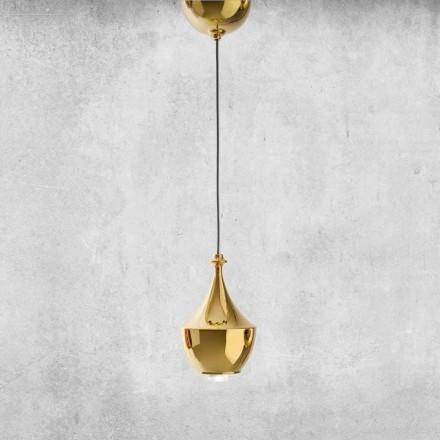 Ceramiczna lampa wisząca LED Made in Italy - Lustrini L3 Aldo Bernardi