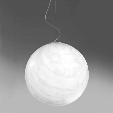 Lampa wisząca z polietylenu model Slide Mineral