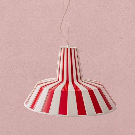 Nowoczesna ceramiczna lampa wisząca - Budin Aldo Bernardi