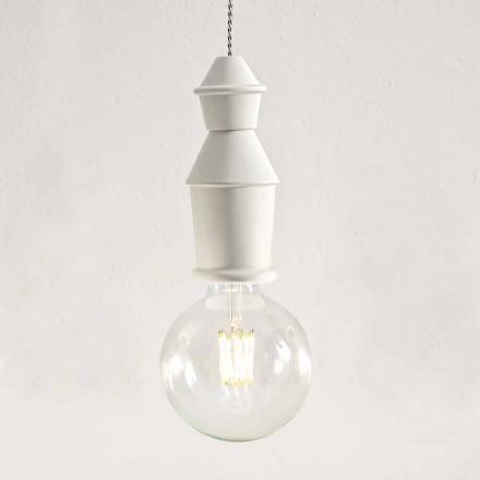 Ceramiczna lampa wisząca Shabby Chic - Fate autorstwa Aldo Bernardi