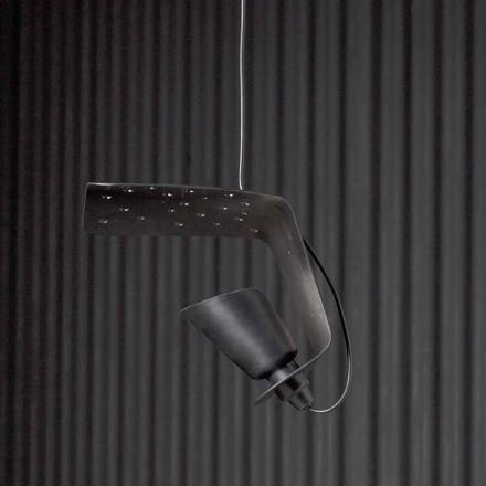 Design lampa wisząca z metalu i aluminium Tractor - Toscot