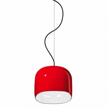 Nowoczesna lampa wisząca z ceramiki Made in Italy - Ferroluce Ayrton