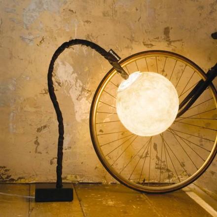Elastyczna lampa podłogowa In-es.artdesign Micro Luna nebulitowa