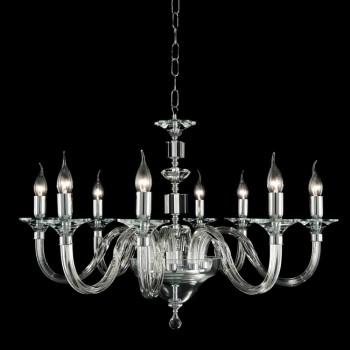 Żyrandol 8 desgin światła szkło kryształowe dekoracje z bluszczu