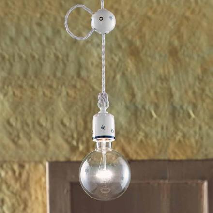 Lampa wisząca z ceramiki od firmy Ferroluce