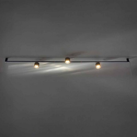 Żyrandol Artisan Design z 3 regulowanymi światłami Made in Italy - Pampeluna