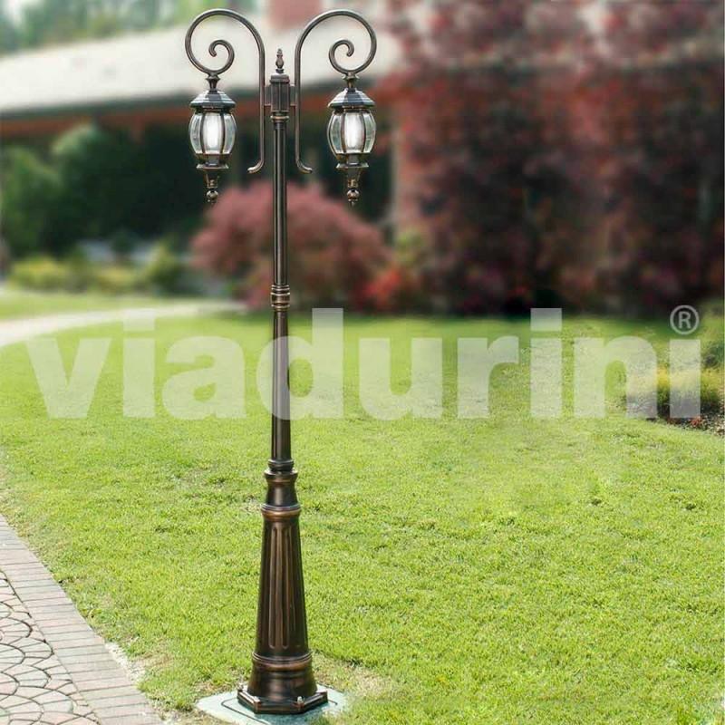 Lampa ogrodowa Anika z odlewanego ciśnieniowo aluminium produkowanego we Włoszech