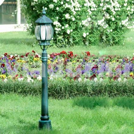 Latarnia ogrodowa wykonana z odlewanego aluminium, wyprodukowana we Włoszech, Anika