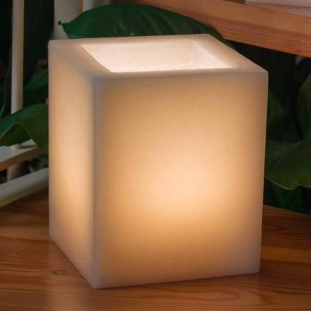 Zapachowa latarnia woskowa efekt porysowania ze świecą Made in Italy - Famme