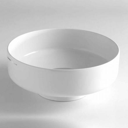 Umywalka ceramiczna nablatowa Vintage Made in Italy - Gabriel