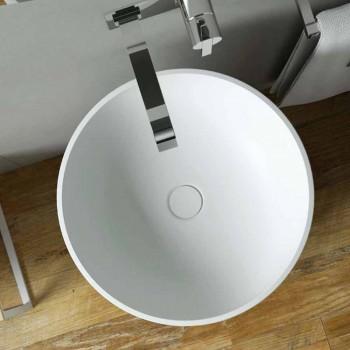 Umywalka stojąca wolnostojąca cylindryczna produkowana we Włoszech, Rumo