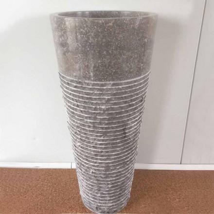IGA kamienna umywalka stojąca na stoliku, wyjątkowa konstrukcja