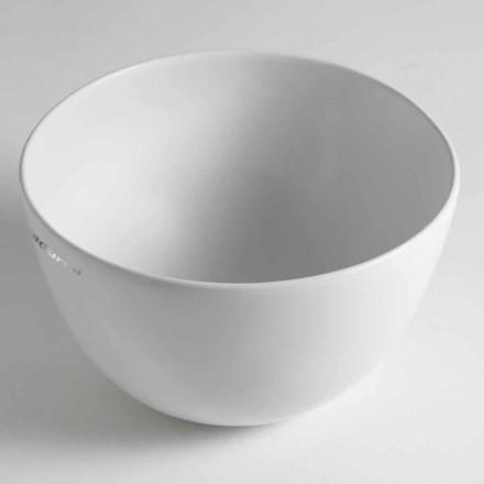 Domenico Ceramiczna umywalka nablatowa Made in Italy
