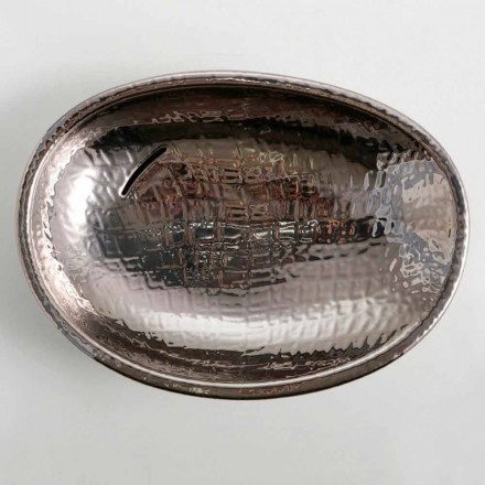 Umywalka ceramiczna siver nablatowa made in Italy Glossy, design