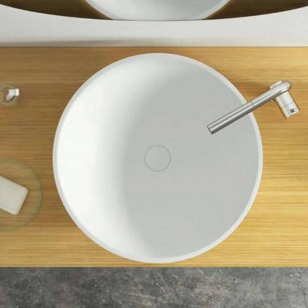 Nowoczesna umywalka nablatowa wykonana we Włoszech, Donnas