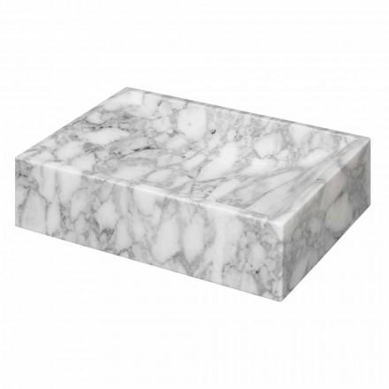Kwadratowy marmur umywalki blatowej Carrara Ma de we Włoszech - Canova