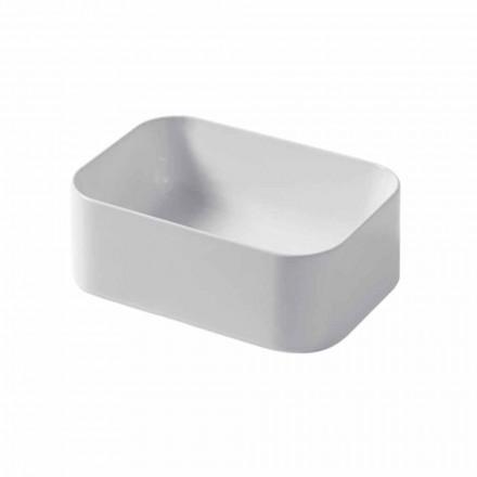 Umywalka ceramiczna nablatowa L 35cm Made in Italy Leivi