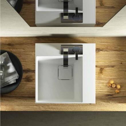 Umywalka nablatowa o nowoczesnym wzornictwie wykonana w 100% we Włoszech, Lavis