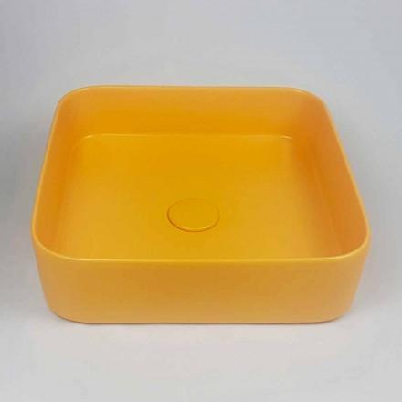 Umywalka ceramiczna nablatowa o nowoczesnym designie Made in Italy - Dable