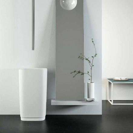 Design wolnostojąca umywalka okrągła wykonana we Włoszech, Lallio