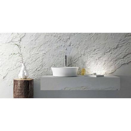 Nowoczesna umywalka okrągła, wykonana w 100% we Włoszech, Desana