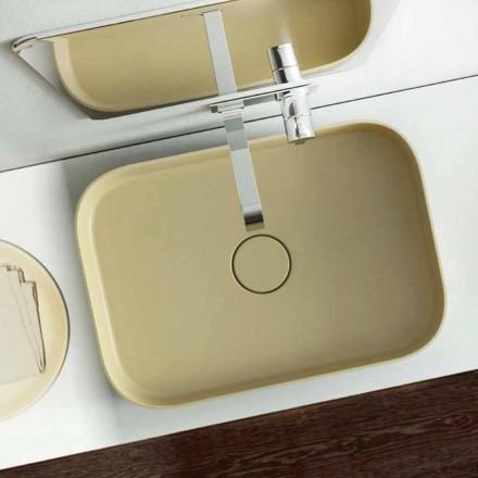 Umywalka w nowoczesnym stylu wykonana w 100% we Włoszech, Formicola