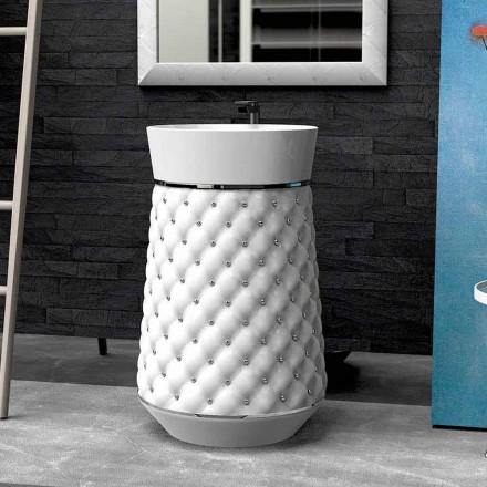 Umywalka wolnostojąca design z Solid Surface® Elizabeth