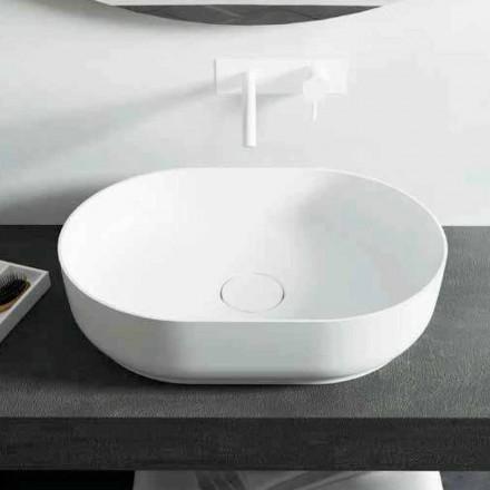 Design wolnostojąca umywalka łazienkowa wykonana we Włoszech Dalmine Medium