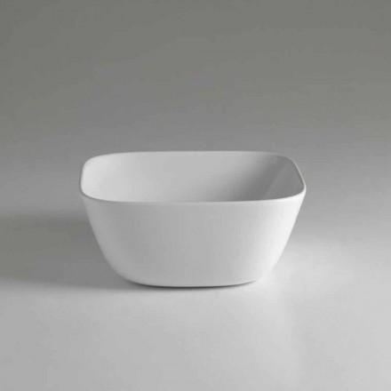 Umywalka ceramiczna wykonana we Włoszech Design Square. Sonne