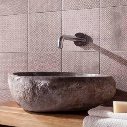 Umywalka nablatowa wykonana ręcznie w Pietra di Fiume - Aurea