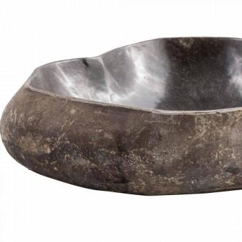 Countertop handmade zlew w rzece kamieniu, Burcei
