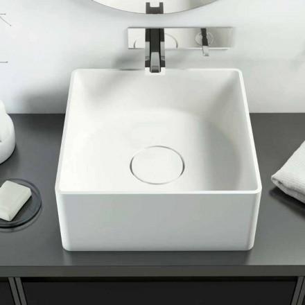 Nowoczesna umywalka nablatowa wykonana w 100% we Włoszech, Forino