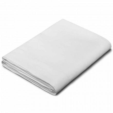 Arkusze king size, pojedyncze i pełnowymiarowe w białej pościeli Made in Italy - Blessy