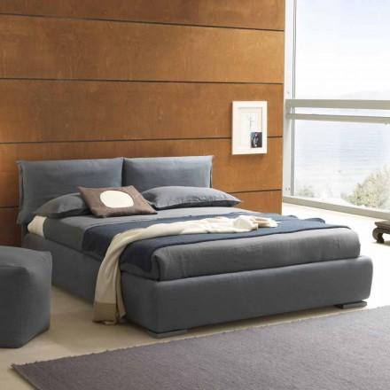 Podwójne łóżko z pojemnikiem, nowoczesny design Iorca Bolzan