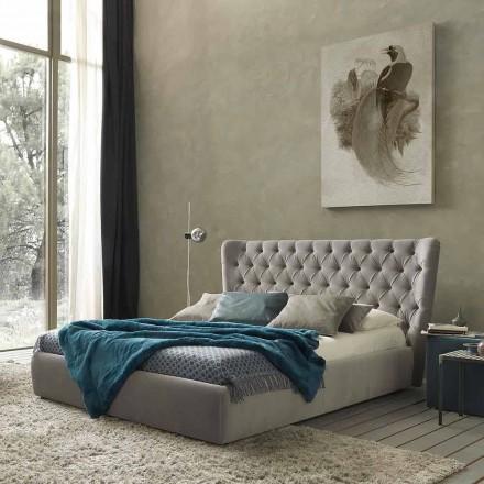 Podwójne łóżko bez pudełka, nowoczesny design, Selene firmy Bolzan