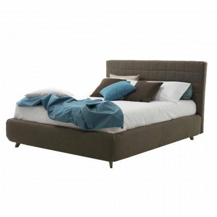 Nowoczesne łóżko tapicerowane z pudełkiem Made in Italy - Baby Walker