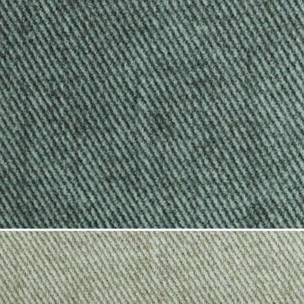 Podwójne łóżko tapicerowane tkaniną lub sztuczną skórą Made in Italy - Elettro