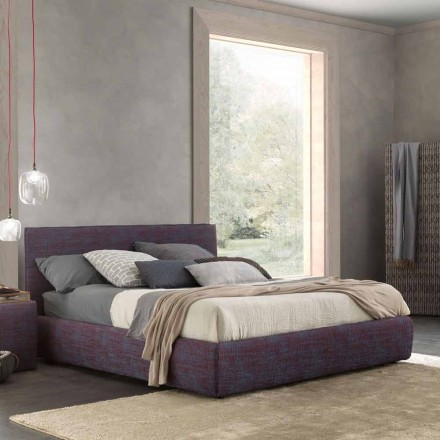 Nowoczesne podwójne łóżko, z pojemnikiem na łóżko, Gaya New firmy Bolzan