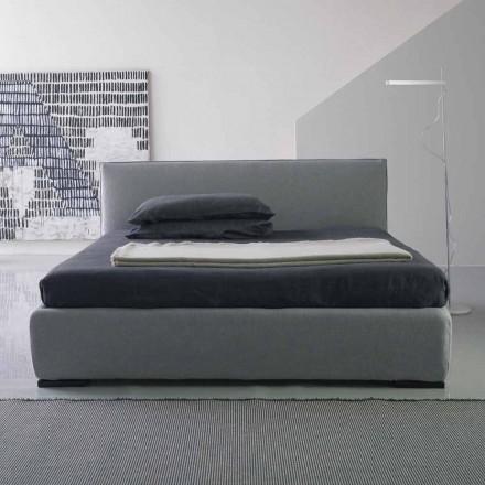 Nowoczesne podwójne łóżko, bez kontenera łóżkowego, Gaya New firmy Bolzan