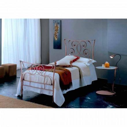 Łóżko pojedyncze w kute Ares