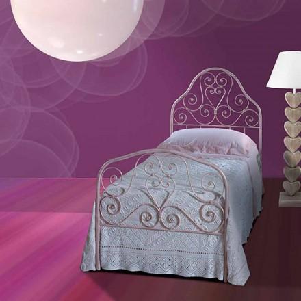 Łóżko pojedyncze w kute Calla