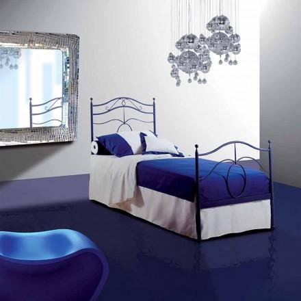Łóżko pojedyncze w kute Kasjopei
