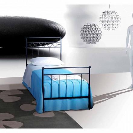 Łóżko pojedyncze w kute Hefajstosa