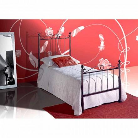 Łóżko pojedyncze w kute Faun