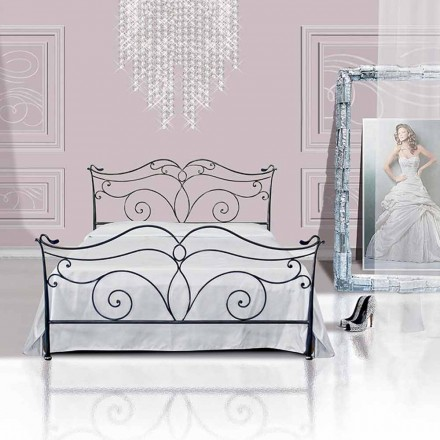 Łóżko pojedyncze w kute Febo