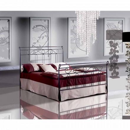 Łóżko pojedyncze w kute Goździka