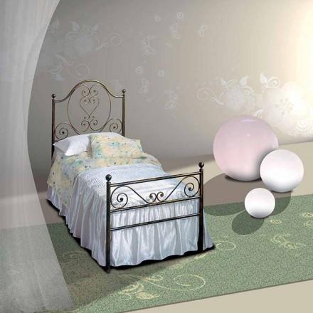 Łóżko pojedyncze w kute Gea
