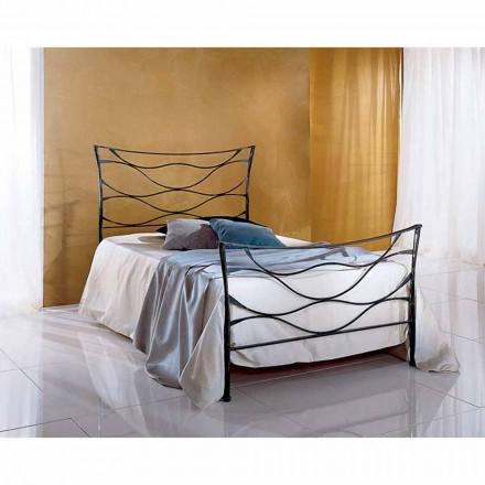 Łóżko pojedyncze w kute Hydra