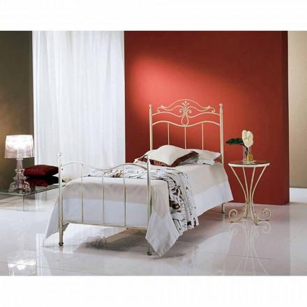 Łóżko pojedyncze w kute Lira