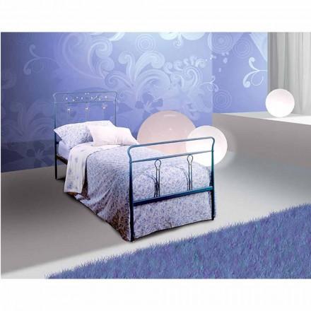 Łóżko pojedyncze w kute Pan